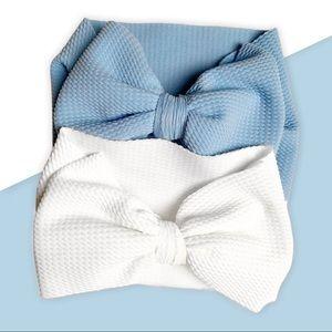 Large Bow Headwrap / 2 piece